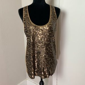NWT Apt 9 sequin tank top